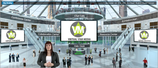 Virtual tradeshow